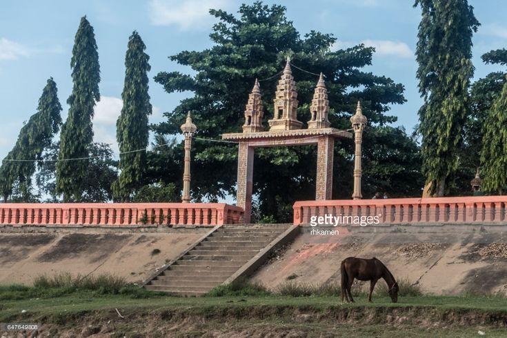 Cambodia, Kampong Cham, Angkor Ban Village