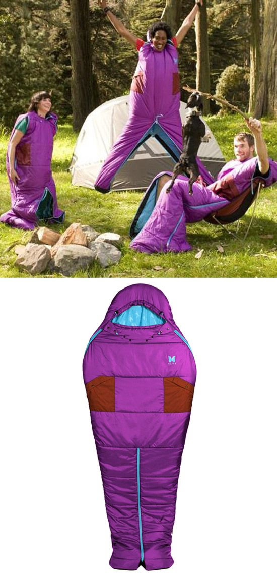 You know how just sometimes you really want to just not get out of your sleeping bag when it's cold outside? Now you don't have to! Alite Designs Sleeping Bag