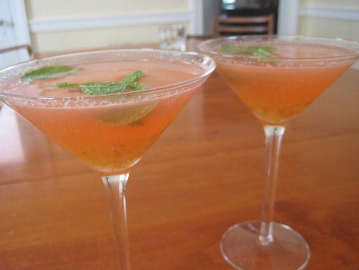 Yujacha cocktail