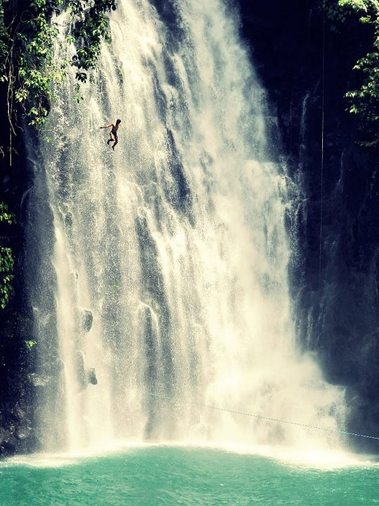Maria Cristina Falls in Iligan City is the second highest falls in the Philippines.