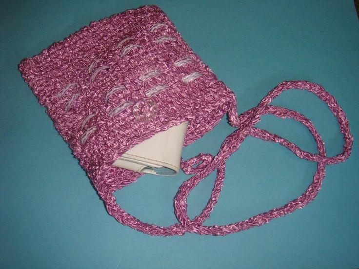 crochet bag  - handmade