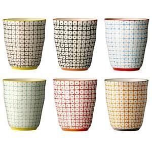 Originálne ručne maľované keramické hrnčeky Carla