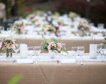best 25 burlap tablecloth ideas on pinterest burlap wedding tables mint table and mint rustic wedding