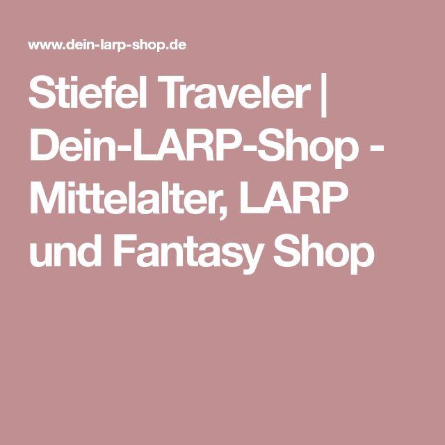 Stiefel Traveler   Dein-LARP-Shop - Mittelalter, LARP und Fantasy Shop