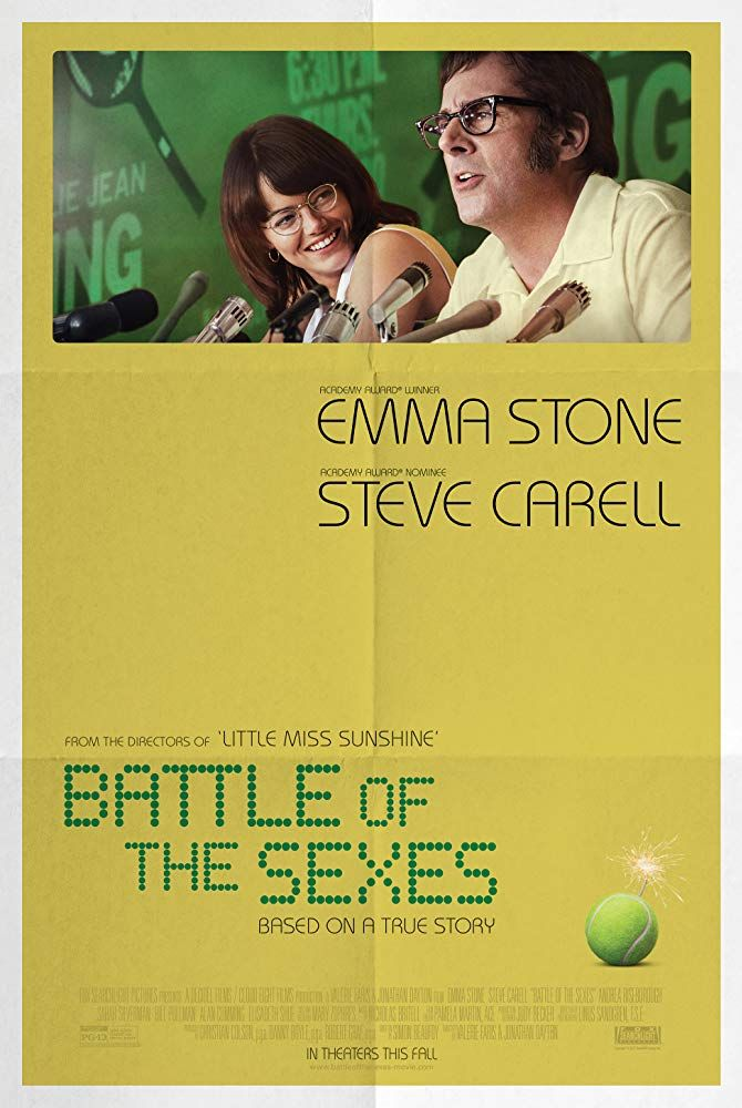 Steve Carell And Emma Stone In Battle Of The Sexes 2017 Steve