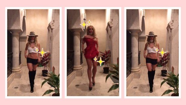 Britney Spears Puts On Own Fashion Week