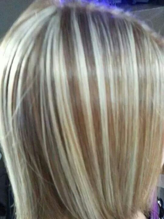 Mechas beige color pinterest colores for Color marmoleado para cabello