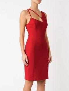 Versace Collection Vestido tubinho com recortes