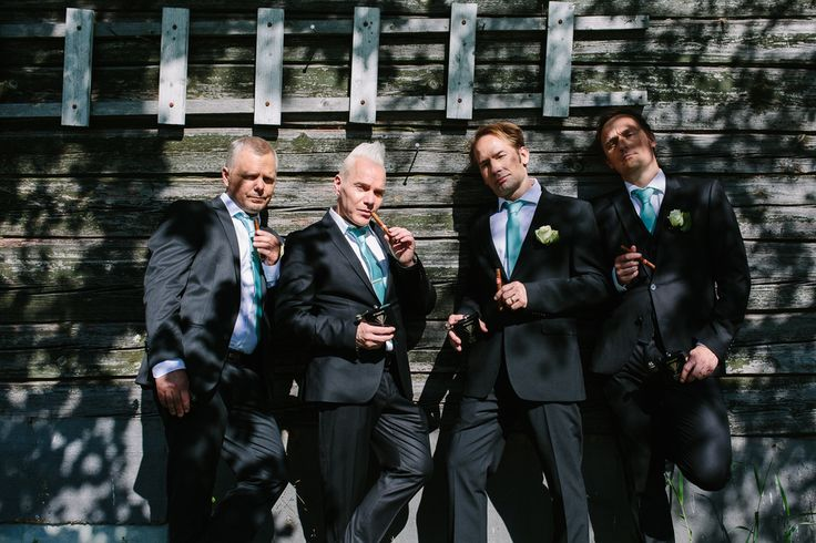 I love chilled portraits like this from weddings! #photography #groomsman #portrait