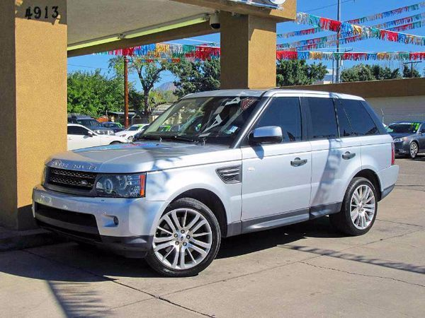 2010 Land Rover Range Rover Sport HSE in Albuquerque, NM (sells for $25,000)