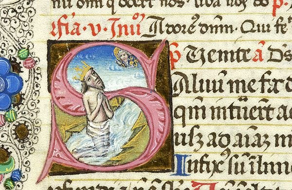 Breviary, MS G.7 fol. 21v - Images from Medieval and Renaissance Manuscripts - The Morgan Library & Museum