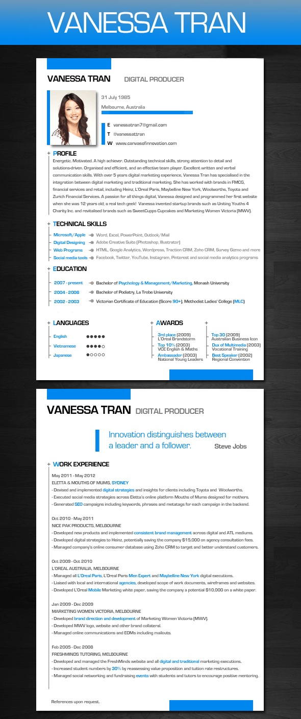 1000  images about resume styles on pinterest