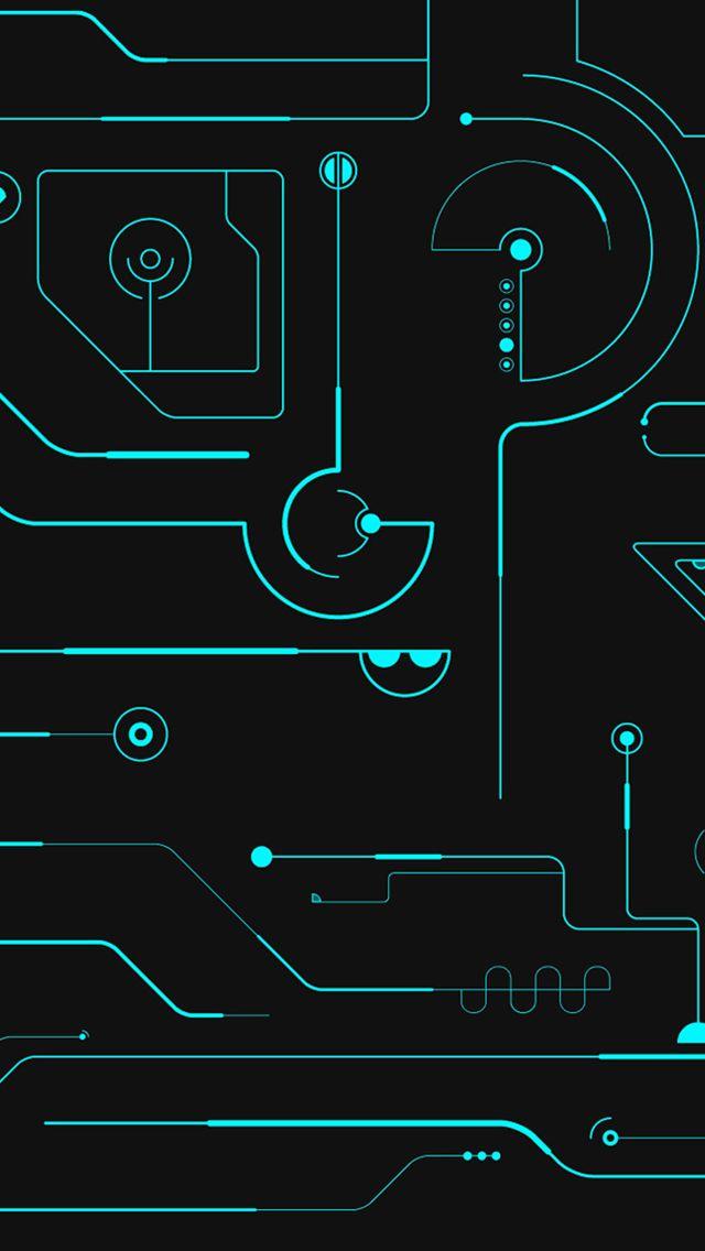 Circuit Board iPhone 5s wallpaper