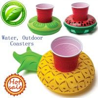 Wish   Summer Inflatable Boats Pool Toys Drink Holder Floating Swimming Pool Bathroom Party Phone Stand Holder Boats Toys