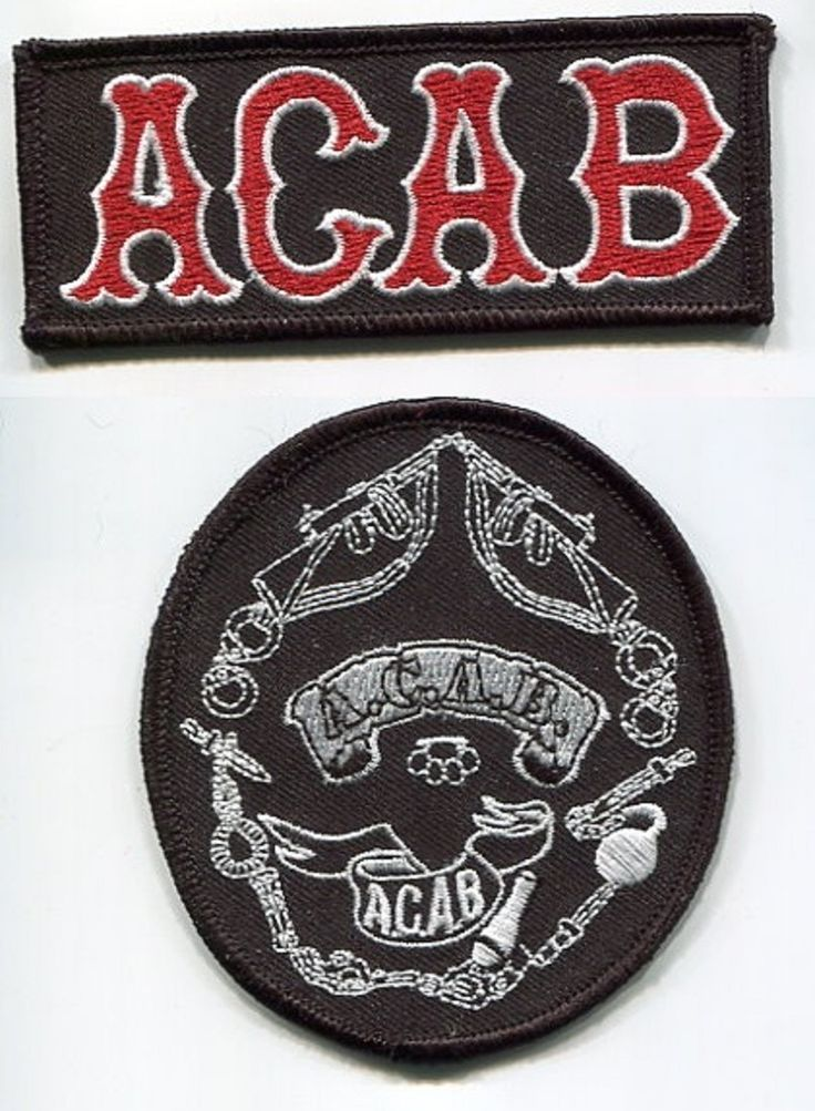 outlaw biker patches | ... RACER ROCKERS TON-UP BOYS 59 OUTLAW BIKER PATCH COLLECTION: A.C.A.B. d