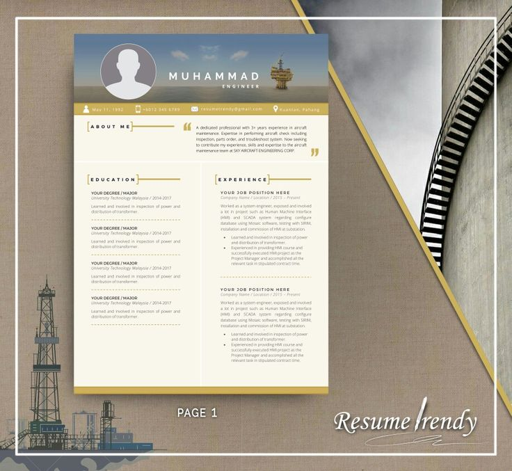 PREMIUM PRO 3! Our resumes are well-crafted and timeless, you can easily adjust them according to your needs and use for years. This resume template will surely satisfy your need while looking for your dreams career.