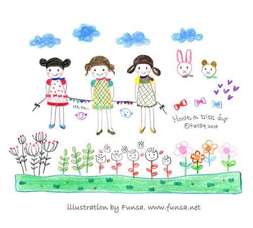 illustration, drawing, doodle, sketchbook, doodling, Funsa, 일러스트, 드로잉, 스케치북, 펀사