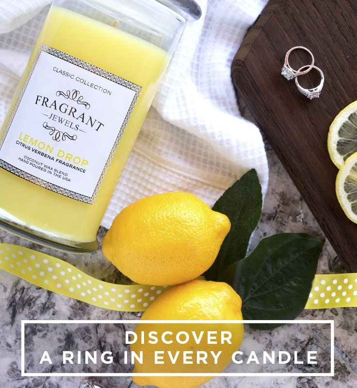 Looking for the perfect clean scent to fill up your home? Look no further! This deliciously scented candle comes with a hidden ring PLUS a chance to win an additional ring worth up to $10,000!
