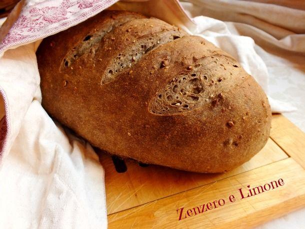 Pane ai cereali - ricetta con pasta madre