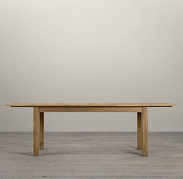 Drifted Oak Parsons Rectangular Extension Table  : dff1bc7a962b17fc5689e1f5f03f1fc5 from www.pinterest.com size 605 x 590 jpeg 27kB