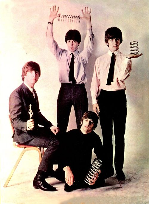 John W. O. Lennon♥♥S. J. Paul McCartney♥♥George H. Harrison♥♥Richard L. Starkey