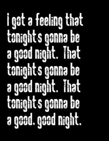 Black Eyed Peas - I Got A Feeling - song lyrics, song ...