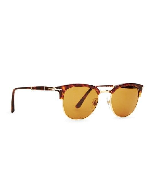 3b03442254 Persol Suprema Icon Sunglasses Brown  StyleMadeEasy