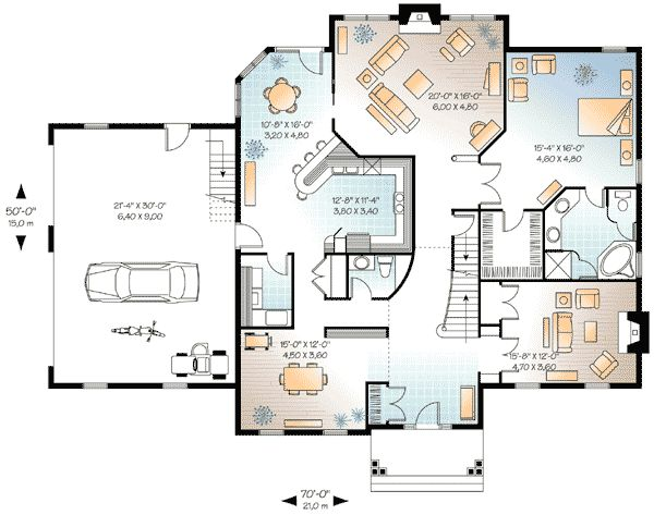 8 best images about in law design on pinterest house for Floor plans with inlaw apartment
