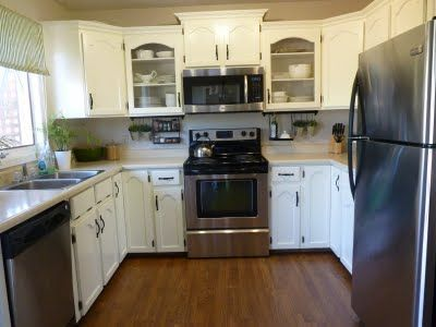 How To Put New Crown Moulding Over Kitchen Cabinets