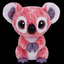 "Ty Beanie Boos Boo's ~ KACEY the 6"" Pink Koala Bear ~ 2015 Release ~ NEW"