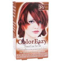 Bulk Color Eazy Women's Medium Auburn Hair Color at DollarTree.com//// I just used this today and am pleasantly surprised as it worked just as well as my $10+ hair dyes I have been trying out. I have long hair so I always have to use 2 bottles but I really don't mind paying $2 for awesomeness. XD