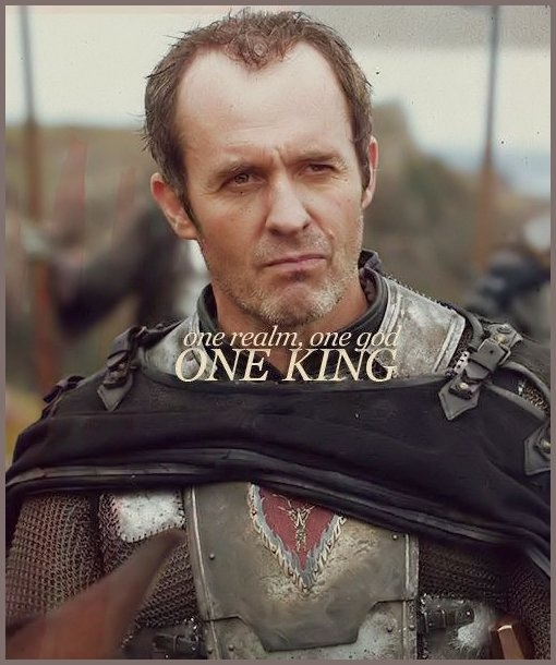 Stannis! I want him to become the true King of the North, I doubt the Seven Kingdoms will be united again