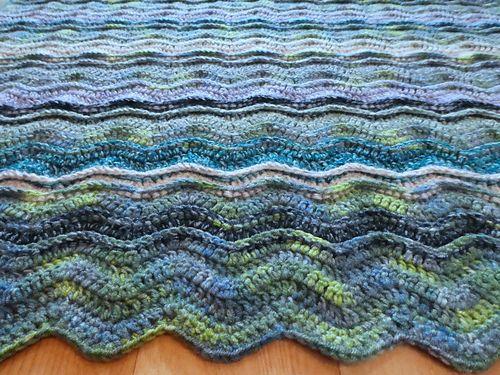591 besten Crochet Afghan Ripple ZigZag Wave Chevron Blanket Bilder ...