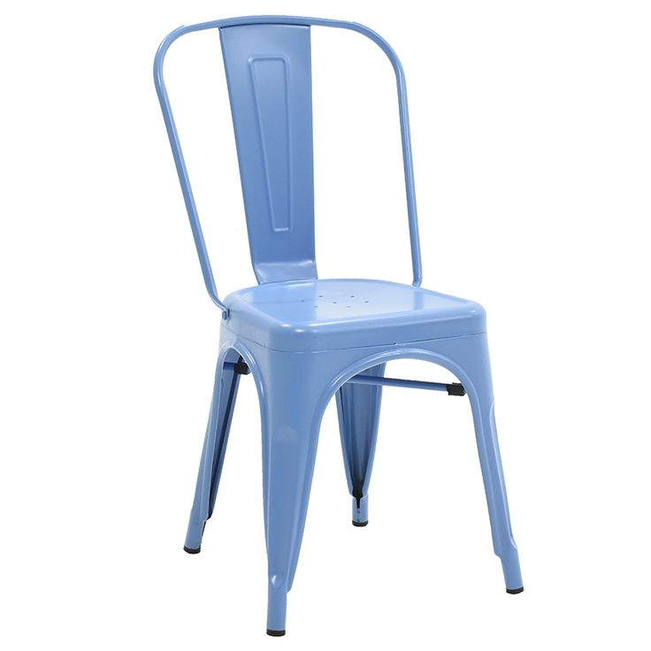 Chair Utopia metal blue