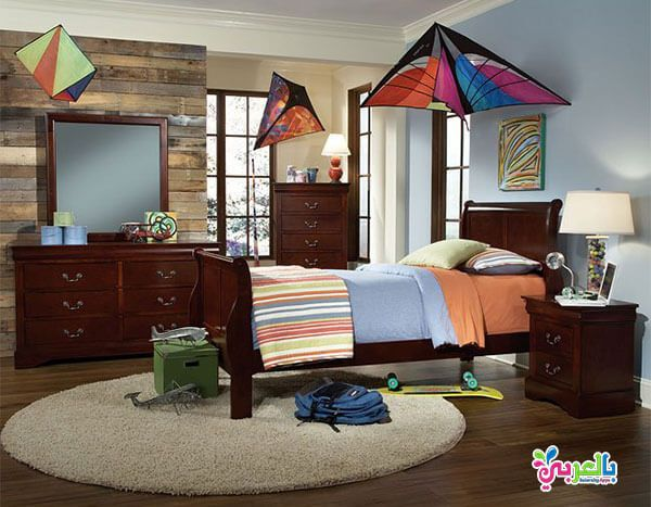 اجمل موديلات غرف نوم اطفال لون بني و عسلي و بيج بالعربي نتعلم Houston Furniture Furniture Store Furniture