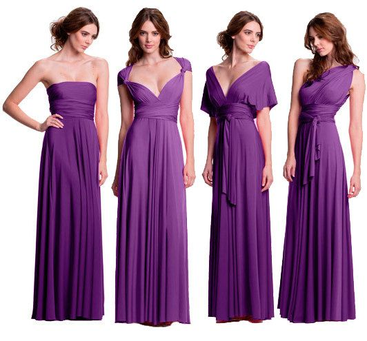 Blue Bridesmaids Dress Bridesmaids Dress Convertible