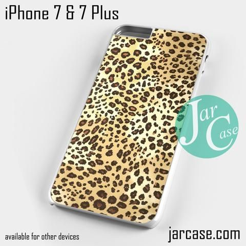 leopard print Phone case for iPhone 7 and 7 Plus