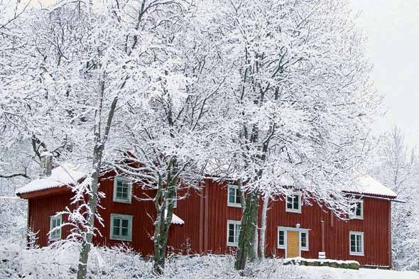 "Sweden's influential ""Falun red"" pigment, which was originally derived from copper mines near Falun and signified a family's prosperity. This exterior color remains popular today and has become an almost iconic ideal for a home in Scandinavia (and even in New England, where you see barns painted in similar red hues)."