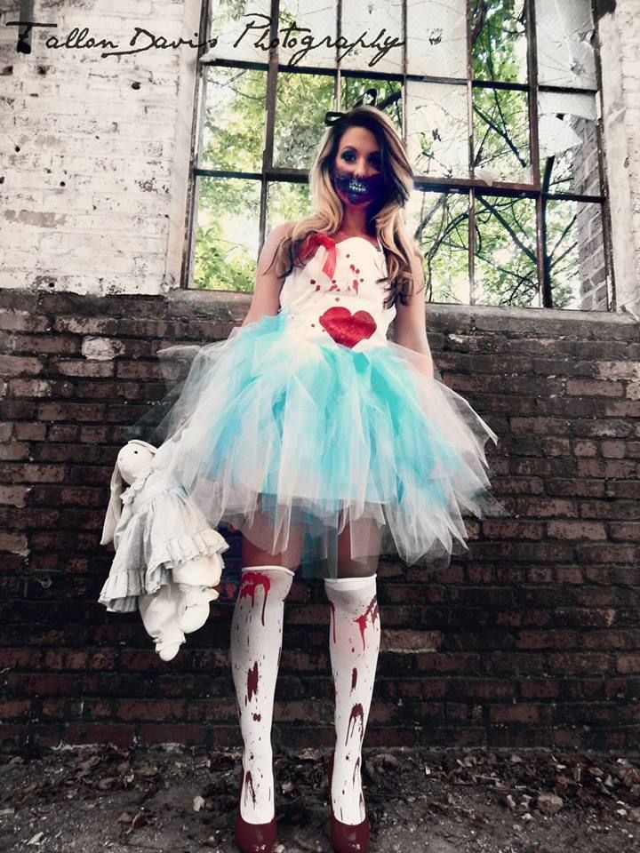 Scary Alice In Wonderland Costume