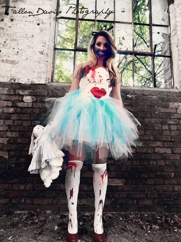 Skøre Alice I Wonderland Kostume