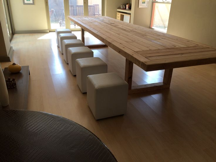 RECLAIMED WOOD - DINING TABLE