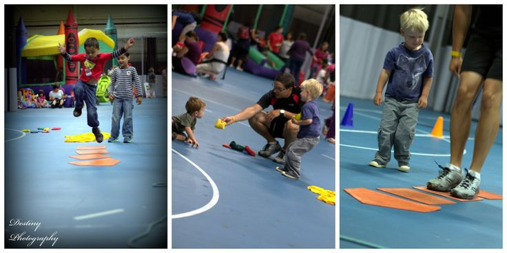 Momstown Birthday Bash Obstacle Course with Coach Ian!