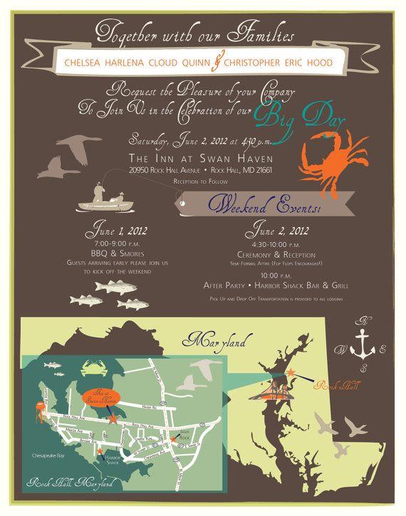 Rustic Wedding Invitation Poster