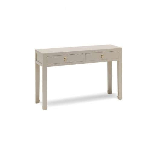 Baumhaus The Nine Schools Qing Oyster Grey Large Console Table