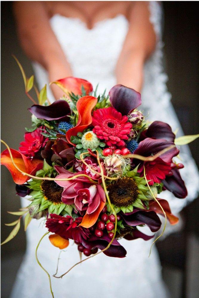 Magical moments | 15 herfst bruidsboeketten | http://www.magicalmoments.nl