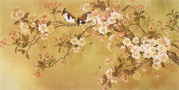 9 best Japanese paintings images on Pinterest | Canvas art paintings ...