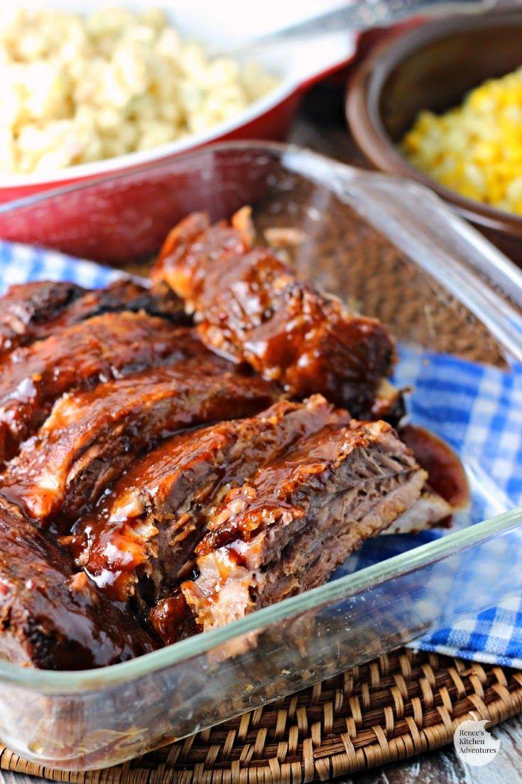 Tender pork loin back ribs recipe
