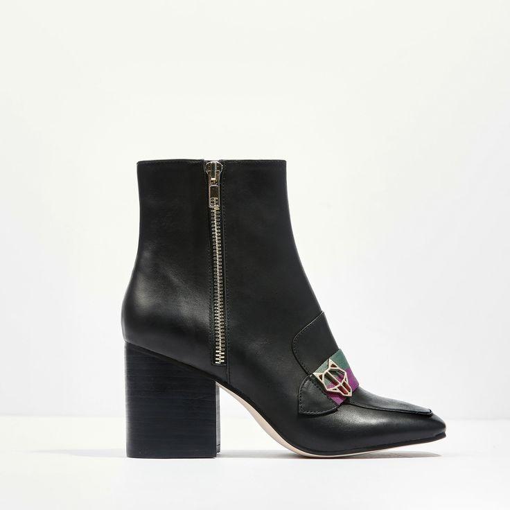 Help Black Leather