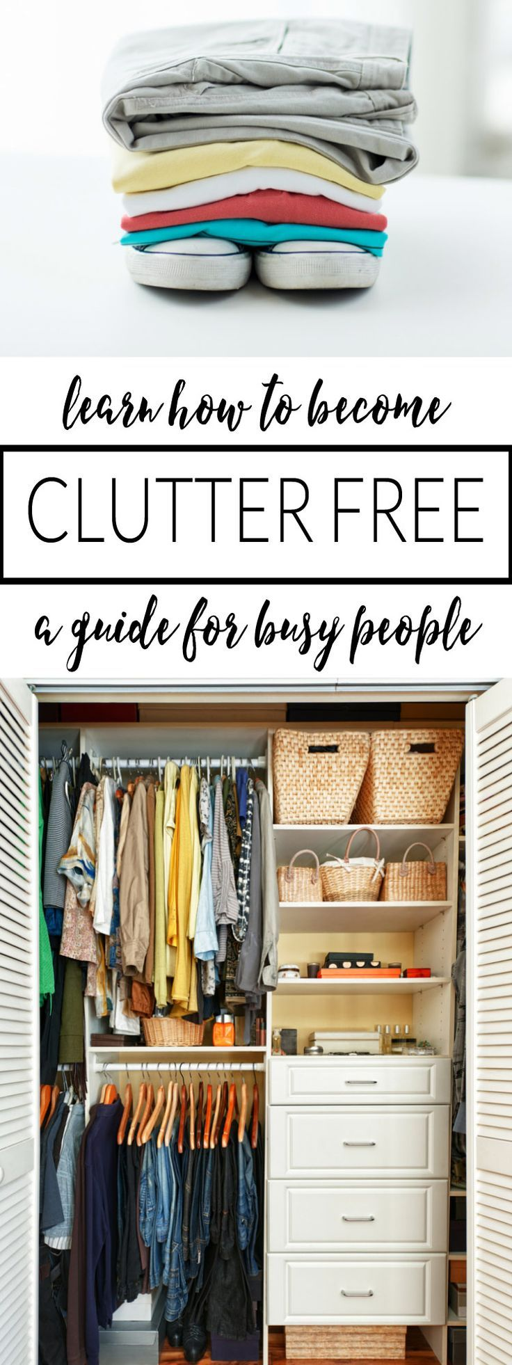 Declutter Your Life NOW  3 Reasons Why You NEED To Do It. Declutter Your  LifeCloset OrganizationOrganization ...