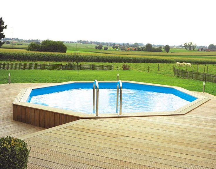 Oltre 25 fantastiche idee su piscine fuori terra su pinterest piscina interrata e patio per - Piscina fuori terra costi ...